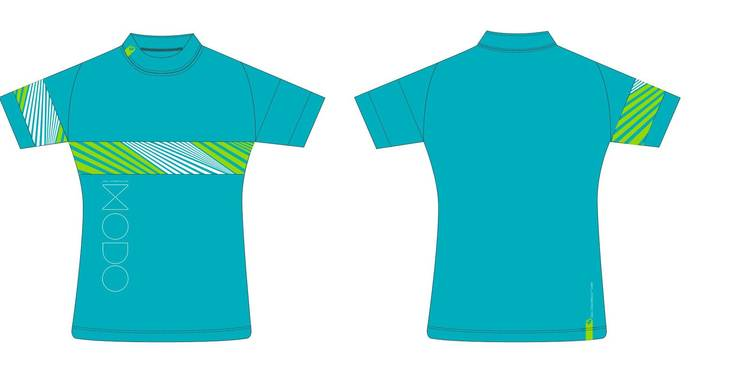 dres MODO Race dámský turquoise 017 S